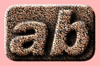 Embossed Stone Text Effect 026
