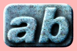 Embossed Stone Text Effect 029