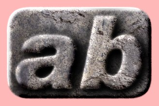Embossed Stone Text Effect 041