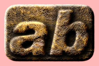 Embossed Stone Text Effect 047