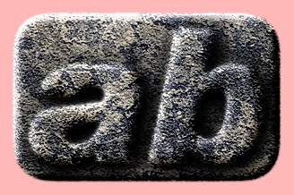 Embossed Stone Text Effect 056