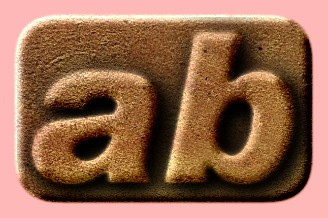 Embossed Stone Text Effect 057