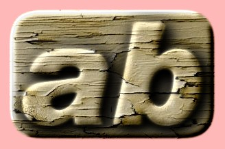 Embossed Wood Text Effect 017