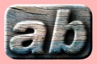 Embossed Wood Text Effect 029