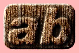 Embossed Wood Text Effect 034