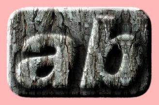 Embossed Wood Text Effect 038