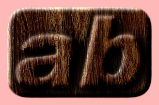 Embossed Wood Text Effect 039