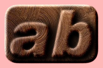 Embossed Wood Text Effect 042