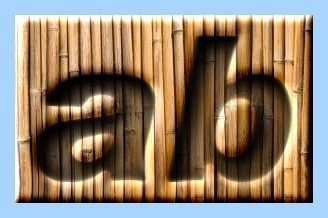 Engraved Bamboo Text Effect 003