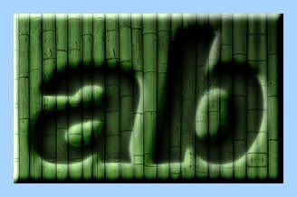 Engraved Bamboo Text Effect 004