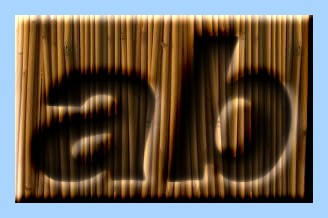 Engraved Bamboo Text Effect 005