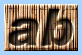 Engraved Bamboo Text Effect 009