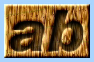 Engraved Bamboo Text Effect 011