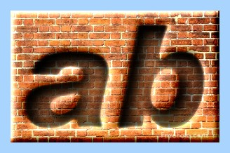 Engraved Brick Text Effect 031