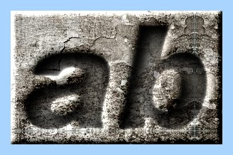 Engraved Concrete Text Effect 005