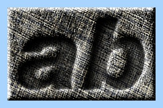 Engraved Fabric Text Effect 024