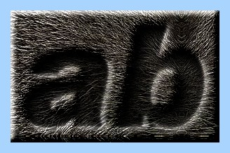 Engraved Fur Text Effect 002