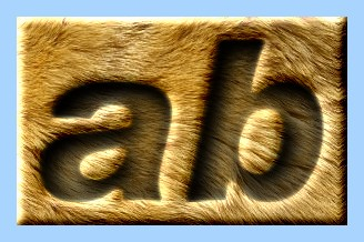 Engraved Fur Text Effect 026