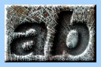 Engraved Glass Text Effect 012