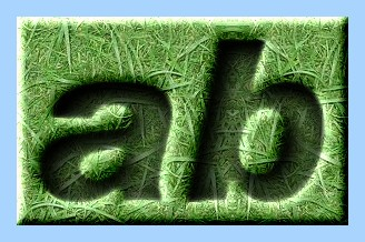 Engraved Grass Text Effect 006