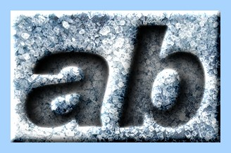 Engraved Ice Text Effect 007