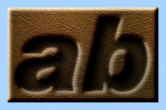 Engraved Leather Text Effect 006