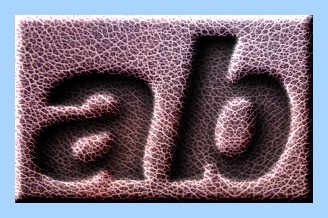 Engraved Leather Text Effect 007