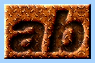 Engraved Rust Text Effect 007