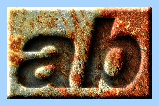 Engraved Rust Text Effect 011