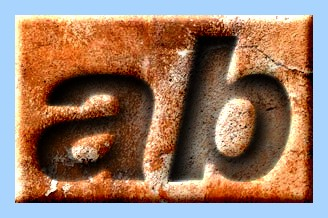 Engraved Rust Text Effect 013