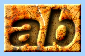 Engraved Rust Text Effect 014