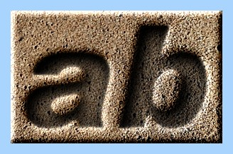 Engraved Sand Text Effect 005
