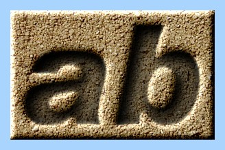 Engraved Sand Text Effect 006