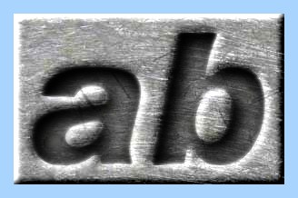 Engraved Steel Text Effect 001