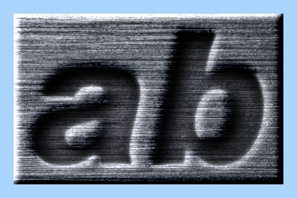 Engraved Steel Text Effect 014