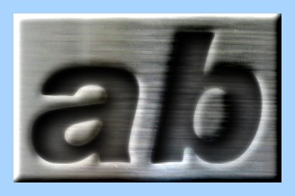 Engraved Steel Text Effect 016