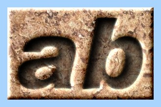Engraved Stone Text Effect 007