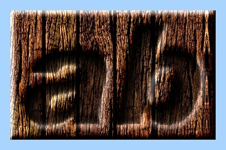 Engraved Wood Text Effect 007