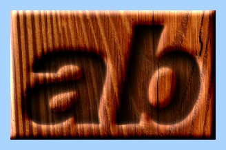 Engraved Wood Text Effect 015