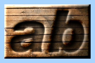 Engraved Wood Text Effect 018