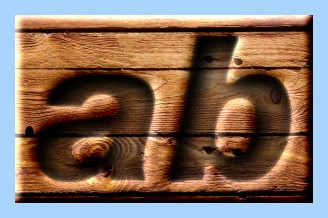 Engraved Wood Text Effect 028