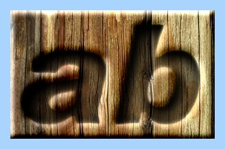 Engraved Wood Text Effect 035