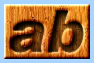 Engraved Wood Text Effect 045