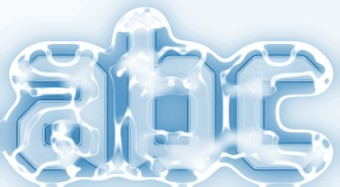 Frosty Ice Text Logo Generator